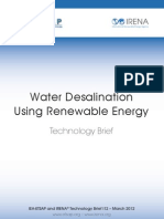 Water Desalination Using Renewable Energy - Technology Brief  معلومات اخري عن الطاقة المتجددة ستجدها  هنا  https://sites.google.com/site/e4poor/
