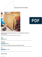 Folding Workbench Plans