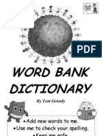 Tom's TEFL - KS1 Word Bank Dictionary