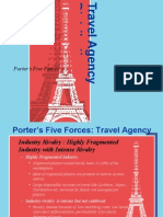 Porter 5 Forces Analysis of Indian Travel Agency Landscape