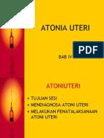 Atonia Uteri