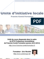 Unité d'initiative locale BTS Professions Immobilières