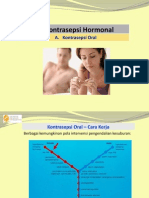 XV Kontrasepsi Oral (Hormonal)