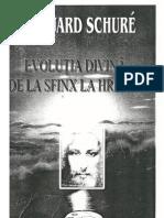 Edouard Schure - Evolutia Divina - De La Sfinx La Hristos