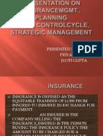 Presentation on Insurance Mgmt.