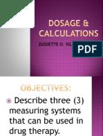 Dosage & Calculations