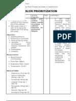 PRIO Lemus Acute Pain and Risk for Def. Fluid Volume