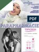 ATRIUM-SANTE - Catalogue de Parapharmacie - Novembre 2012 à Mars 2013