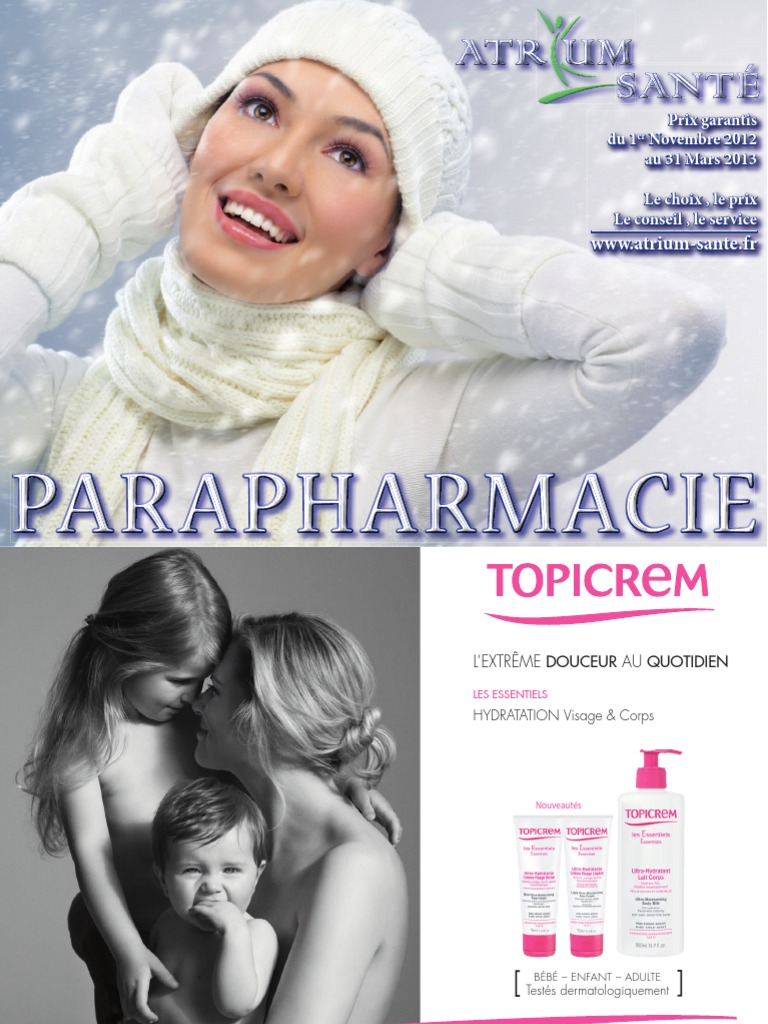ATRIUM-SANTE - Catalogue de Parapharmacie - Novembre 2012 à Mars 2013 f41459d45b1