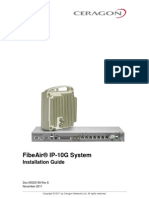 FibeAir IP-10G InstallationGuide(RevE)