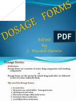 Types of Dosage Forms Lecture2,2