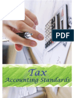 Tax Accounting Standards Draft