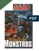 3D&T - Manual Dos Monstros - Rpg