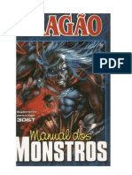 3D&T - Manual Dos Monstros - Rpg