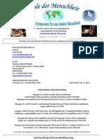 04-10-2012 - Strafanzeige wegen Körperverletzung durch Zwangsbeschneidung nach § 223 StGB