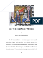 On the Horns of Moses