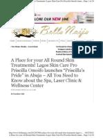Facial Hair Treatment in Nigeria