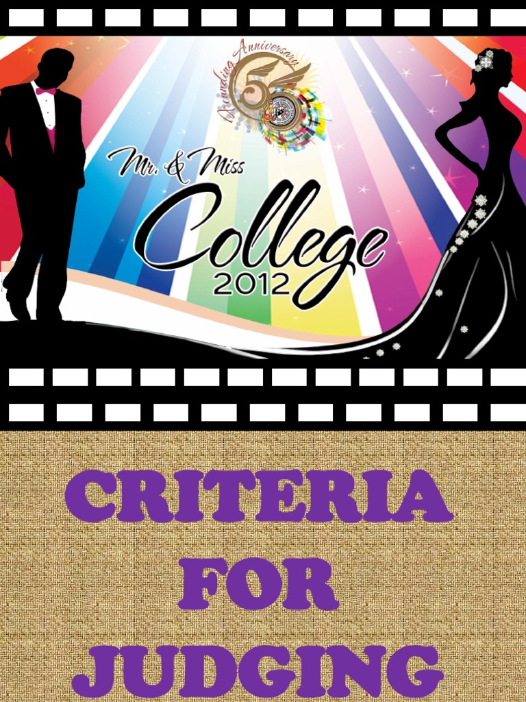 Criteria for judging mr ms college 2012 spiritdancerdesigns Images