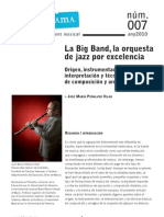 Sonograma07 La Big Band Orquestra de Jazz JoseMa Penalver
