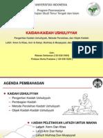 KTI_10421 - Kaidah-Kaidah Ushuliyyah (Ppt)