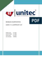 Casos Capitulo 7,8,9 Metodos Cuantitativos Para Los Negocios