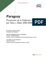 PROYECCION DE LA POBLACION NACIONAL POR SEXO Y EDAD, 2000  2050 - PARAGUAY - PORTALGUARANI
