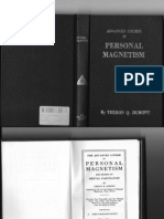 Theron Q Dumont Advanced Course in Personal Magnetism