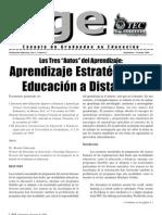 Aprendizaje Estrategico en Educacion a Distancia