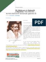 Series 50 -RSS -Believers in Satpanth Dasavatar Are Muslims
