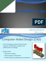 CAD Final Ppt 310812