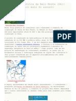Usina hidroelétrica de Belo Monte