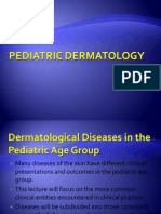 Pediatric Dermatology Lecture Handout