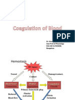 Coagulation of Blood