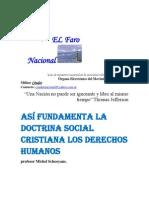 Así fundamenta la doctrina social cristiana los derechos humanos- profesor Michel Schooyans.