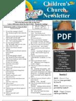 Newsletter 10-28-12