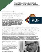 Tradicioncatolica.net-la Guerra Contra La Poblacion Vi El Informe Kissinger Sobre El Control Poblacional Mundial