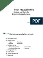 Bakterioen metabolismoa