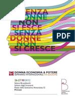 Programma Fondazione Bellisario