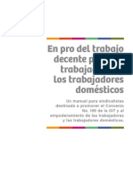 Manual Para Sindicalistas Del Trabajo Domestico
