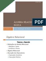 MDADOS-03 Algebra Relacional v20120926 COPIA
