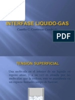 Interfase Liquido Gas