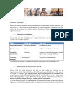 Informe de Gestión del Colegio de Sociólogos del Perú 2011-2012