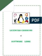 Licencias Commons y Software Libre