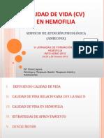 Calidad de Vida en Hemofilia. Doña Sonia Laguna. INFOHEMO 2012. 25.10.12