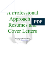 A Skilled Approach to Resumes and Cover Letters