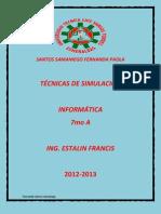 Trabajo de Simulacion Fp Santos