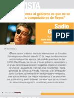 Entrevista Sadio Garavini