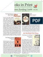 Summer Reading Guide 2011-12