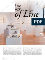 Language of Line Review in Ceramics Monthly
