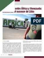 Relaciones entre Africa y Venezuela